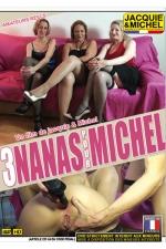 3 nanas pour Michel - DVD porno amateur avec 3 amatrices r�elles qui se donnent vraiment � fond devant la cam�ra de Michel.