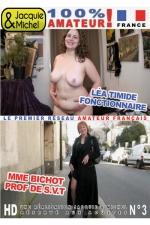 DVD Jacquie et Michel n 03 - 2 films 100% r�el, 100% sexe amateur: L�a timide fonctionnaire + Mme Bichot prof de SVT.