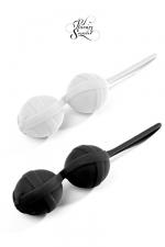 Secrets de Geisha Black and White - Les Smartballs Next G�n�ration de  Plaisirs Secrets  avec de nouveaux coloris noir et blanc.