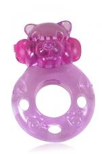 Power Ring Bear - Un anneau vibrant � enfiler sur le sexe pour faire monter le plaisir des deux partenaires pendant les rapports sexuels.