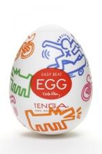 Tenga Egg street - Keith haring - Nouveau masturbateur Tenga EGG , un sextoy collector ambiance urbaine � d�couvrir de toute urgence.