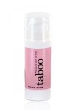 Gel Plaisir clitoridien Taboo - Le gel intime pour stimuler le clitoris et accroitre le plaisir f�minin.