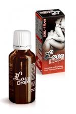 Love Drops - stimulant sexuel - Votre compl�ment alimentaire �nergisant sexuel pour hommes et femmes � base de plantes.
