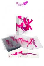 Jeu �rotique SuperPoses - le jeu coquin de superposition de cartes transparentes, pour donner libre cours � votre imagination.