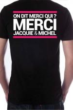 T-shirt Jacquie & Michel n�7 - Le Tee-shirt exclusif (visuel 7) � l'effigie de  Jacquie & Michel, votre site amateur pr�f�r�.