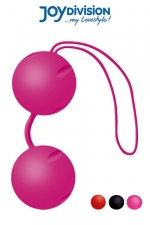 Joyballs heavy - boules de geisha (V2) : La nouvelle version des c�l�bres boules de ge�sha haute qualit� en silicone m�dical, livr�es avec leur housse de rangement.