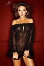 Robe Bad Midness - Robe vaporeuse en voile de mousseline, elle vous habille de l�g�ret� et de transparence.