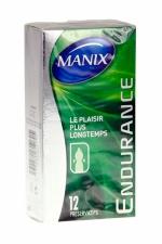 Pr�servatifs MANIX endurance x12 - MANIX Endurance favorise le contr�le de l'�jaculation et prolonge vos rapports sexuels.
