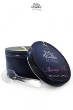 Bougie de massage - Fifty Shades of Grey - Bougie de massage  Massage Me , go�tez aux caresses sensuelles d'un massage �rotique
