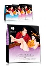 Sels de bain Lovebath - Shunga - Avec Lovebath, d�couvrez une exp�rience sensuelle du bain japonais.