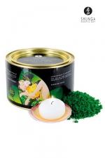 Cristaux de bain Fleur de Lotus - Shunga -  Cristaux d'Orient  Sel de la Mer Morte aromatis� et moussant, parfum� � la Fleur de Lotus.
