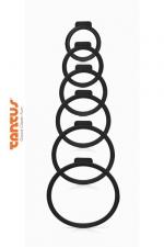 Kit O Ring - Tantus - 6 anneaux de tailles diff�rentes pour adapter le sextoy de votre choix � votre harnais Tantus.