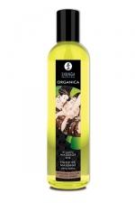 Huile Bio de massage �rotique Organica - Huile de massage Erotique Bio  Chocolat Enivrant  ou  Douceur d'amande , par Shunga.