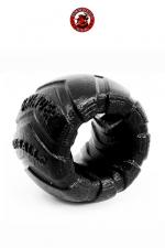 Grinder 1 Ball Stretcher - Oxballs - Un bon gros cockring / ball stretcher 100% pur silicone en forme de roue de tracteur.