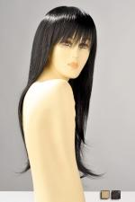 Perruque Brenda - Perruque longue avec une frange, ses m�ches lisses vous donnent une allure sensuelle et f�minine.