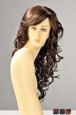 Perruque Dareen - Perruque longue aux cheveux ondul�s de boucles sensuelles qui se r�pandent sur la poitrine.