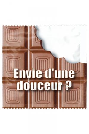Préservatif humour - Envie D'une Douceur - Préservatif  Envie D'une Douceur , un préservatif personnalisé humoristique de qualité, fabriqué en France, marque Callvin.