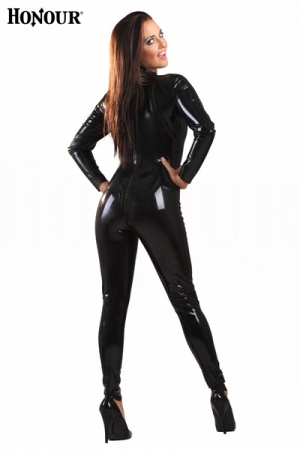 Combinaison latex Back-Zip