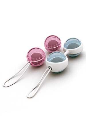 Luna, 2 paires de boules de geïsha luxueuses, particulièrement silencieuses et efficaces.
