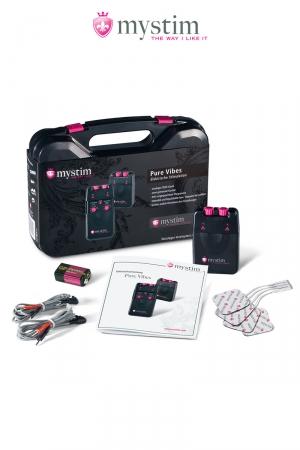 La mallette Mystim de base pour découvrir une nouvelle ère dans l'électro-stimulation !