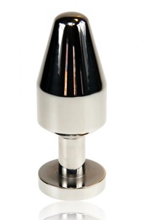 Un missile anal en métal au format généreux pour votre plus grand plaisir.