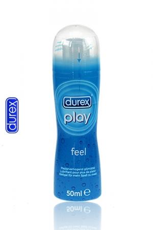 Lubrifiant intime Durex Play Feel, le gel lubrifiant à base d'eau, pour accroitre votre plaisir.