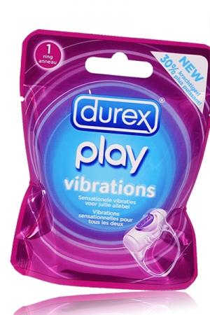 Avec l'anneau vibrant Durex Play Vibrations, découvrez de nouvelles sensations.