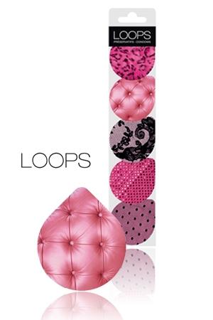 Avec la collection Pinky de Loops, le préservatif devient un accessoire Glamour.