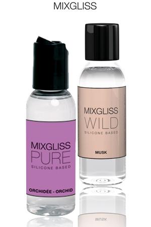WILD - Musc ou PURE – Orchidée, optez pour un lubrifiant silicone, raffiné et haute qualité.