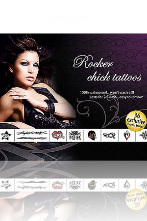 Rocker Chick Tattoos: 36 tatouages exclusifs pour jouer aux Groupies enflammées.