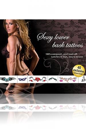 40 Tatouages sexy temporaires pour le creux de vos reins .