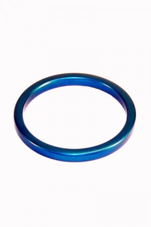 Anneau de pénis en Aluminium anodisé, beau, efficace et ultra léger - diamètre 35 à 55 mm.