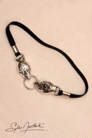 Bracelet de sexe Serpents - argent