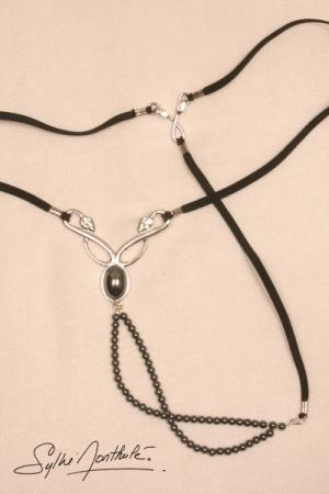 String bijou Caresses du Nil - argent
