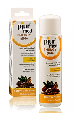 A la fois un lubrifiant et un stimulant à base de produits naturels.