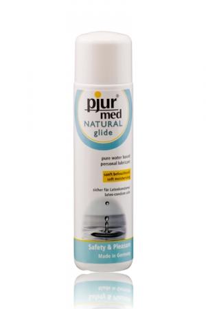 Gel lubrifiant intime naturel haute qualité, hydratant et doux, très glissant, à base d'eau.