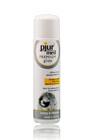 Lubrifiant intime  Premium haute qualité à base de silicone, recommandé pour les peaux hyper-sensibles.