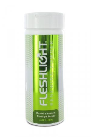 FleshLight renewing powder pour entretenir et rénover votre masturbateur favori.
