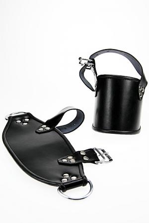 Menottes de chevilles haute qualité en cuir pour suspendre votre partenaire par les pieds.