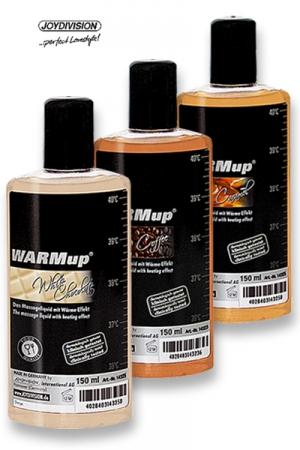 Huile de massage chauffante parfumée aux arômes de friandises, pour embaumer votre partenaire de délices sensuels.