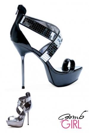 Sandales compensées Rhéa