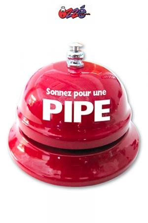 Sonnette de table - Pipe