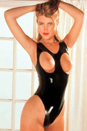 Body ouvert latex noir