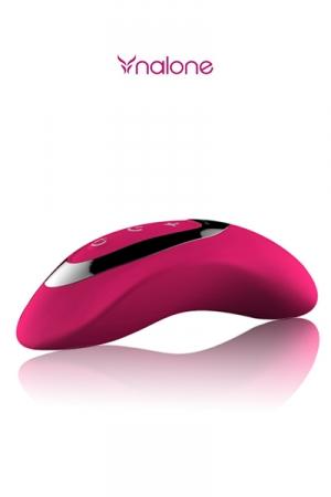 Masseur intime Curve : stimulateur intime haute qualit� avec contr�le tactile de l'intensit� des vibrations.