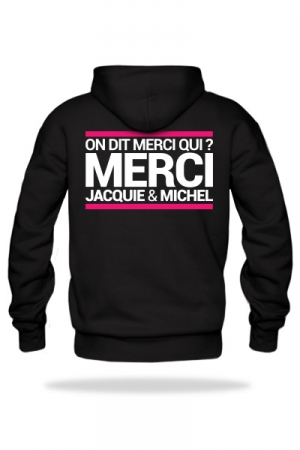 Sweat-shirt Capuche J&M noir