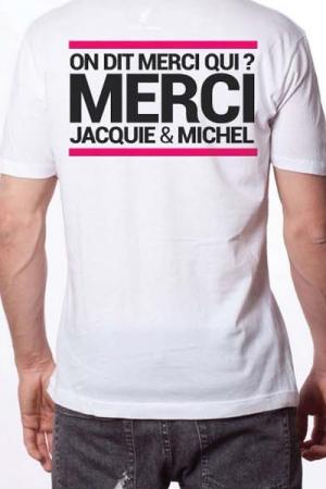 T-shirt Jacquie & Michel n�6 - Le Tee-shirt exclusif (visuel 6) � l'effigie de  Jacquie & Michel, votre site amateur pr�f�r�.