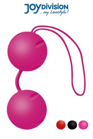 Joyballs heavy - boules de geisha (V2) - La nouvelle version des c�l�bres boules de ge�sha haute qualit� en silicone m�dical, livr�es avec leur housse de rangement.