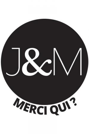 Tattoos J&M (x5) - Pack de 5 tatouages �ph�m�res (dimensions 3,8 x 3,8 cm) reproduisant le c�l�bre logo de Jacquie et Michel.