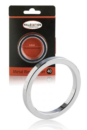 Cockring Metal Ring Starter - Malesation - La bague de p�nis id�ale pour s'initier au port des cockrings en m�tal.