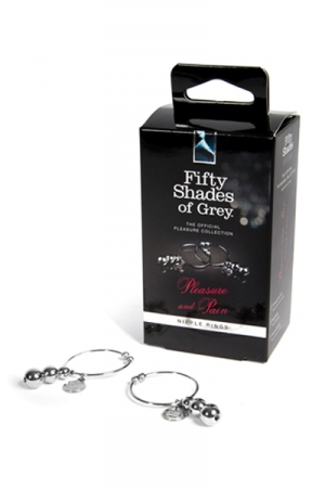 Anneaux pour seins - Fifty Shades of Grey